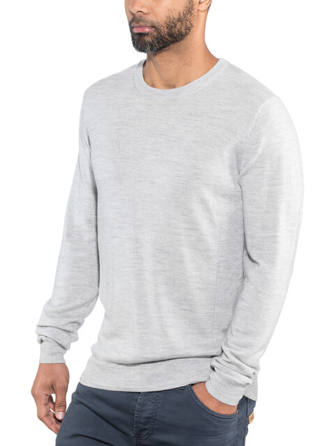 Icebreaker Shearer Crew Sweater Men Steel Heather